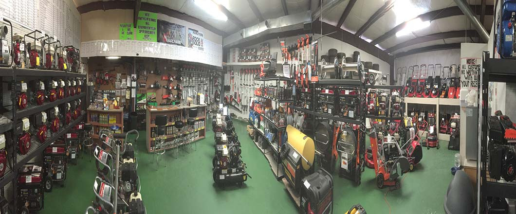 Large selection of new or used equipment!