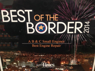 2014 Best of the Border Winner For Best Engine Repair